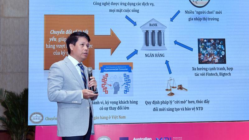 Ông Phạm Tiến Dũng, Vụ trưởng Vụ thanh toán Ngân hàng Nhà nước