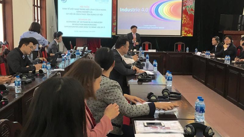 Hội thảo kinh tế Việt Nam trong bối cảnh cách mạng công nghiệp 4.0: cơ hội và thách thức tận dụng cơ hội, do CIEM tổ chức sáng 1/3
