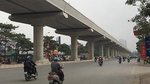 Đến thời điểm hiện tại, đường sắt đô thị Nhổn - Ga Hà Nội thuộc diện dự án chậm tiến độ nhất cả nước.