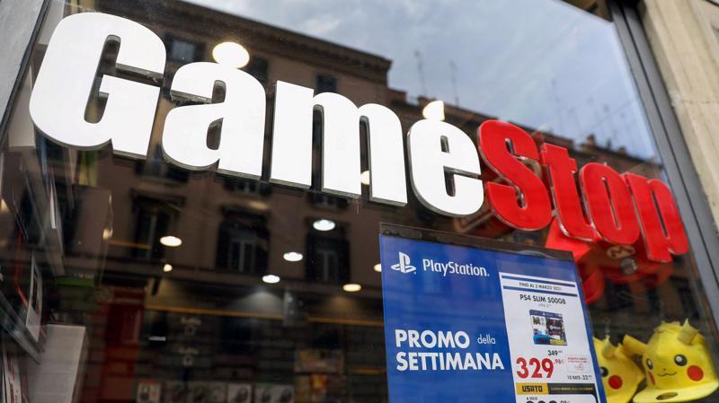 Cổ phiếu GameStop gây sốt trên toàn cầu - Ảnh: Getty Images