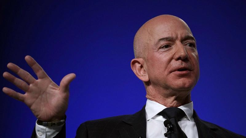 Jeff Bezos, CEO Amazon - Ảnh: Intercept.