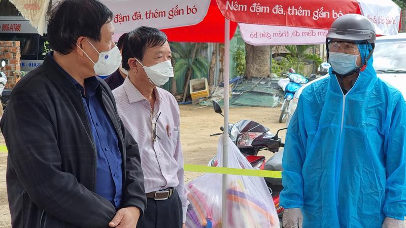 Đoàn công tác Ban Chỉ đạo kiểm tra công tác phòng chống dịch tại tỉnh Gia Lai. Ảnh - Bộ Y tế.