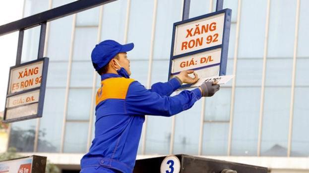 Giá xăng giảm nhẹ từ 15 giờ chiều 22/10.