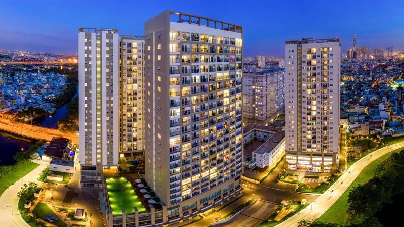Khu căn hộ Richmond City (Quận Bình Thạnh, Tp.HCM) được Hưng Thịnh Incons bàn giao năm 2020.