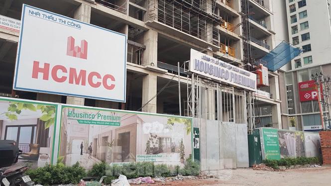 Tổ hợp văn phòng và nhà ở Housinco Tân Triều, huyện Thanh Trì, Hà Nội do Công ty Cổ phần Tập đoàn Housinco làm chủ đầu tư.