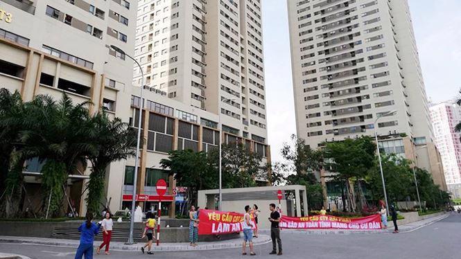 Những xung đột, tranh chấp tại chung cư hiện vẫn diễn ra khá nhiều tại Hà Nội.