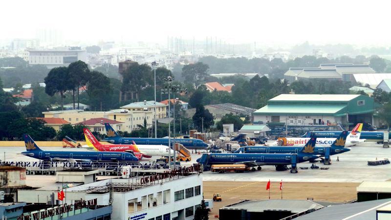 Theo Cục Hàng không Việt Nam, 7/22 sân bay nước ta đã quá tải. Nghiêm trọng nhất là tại Tân Sơn Nhất và Nội Bài.