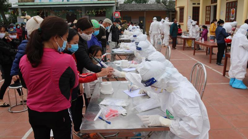 Ca dương tính Covid-19 tại Bắc Giang liên quan đến ổ dịch tại tỉnh Hải Dương. Ảnh - Bộ Y tế.