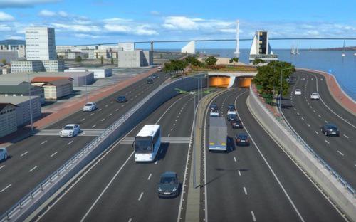 Vào cuối tháng 12/2016, Thường vụ Thành ủy Đà Nẵng đã thống nhất và báo  cáo Chính phủ phương án triển khai dự án hầm vượt sông Hàn với tổng kinh  phí đầu tư dự kiến gần 5.000 tỷ đồng.