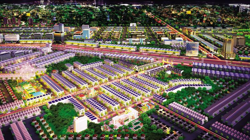 Công viên trung tâm là nơi vui chơi, thư giãn lý tưởng cho cư dân Hana Garden Mall.
