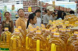 Các doanh nghiệp được hỗ trợ vốn dự trữ hàng Tết hiện đã chuẩn bị được lượng hàng hóa tương đối lớn.