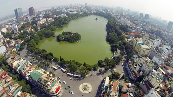 Thủ đô Hà Nội phát triển theo mô hình chùm đô thị gồm khu vực đô thị trung tâm, 5 đô thị vệ tinh.