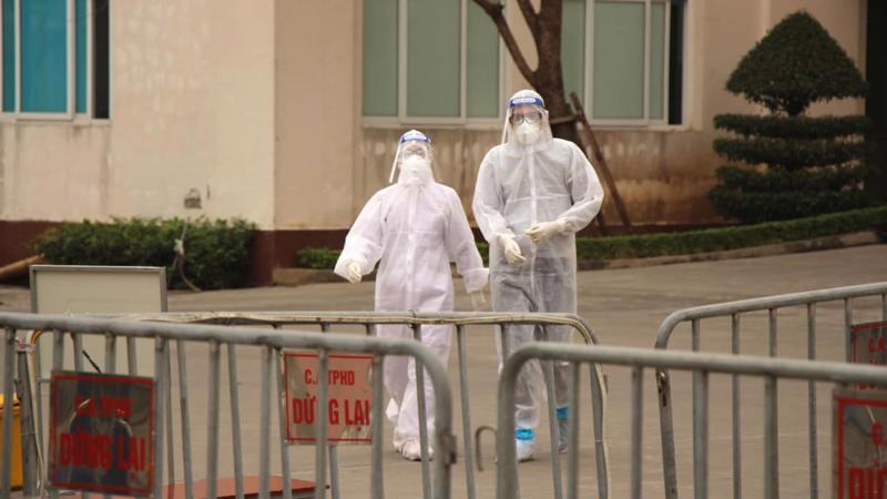 Ca nhiễm Covid-19 tại Hà Nội liên quan ổ dịch tại Hải Dương. Ảnh - Bộ Y tế.