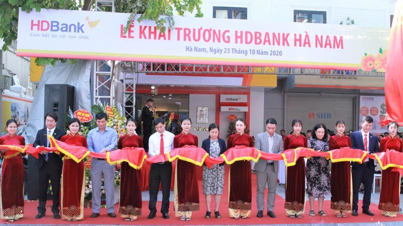 HDBank Hà Nam là điểm giao dịch thứ 307 trên hệ thống HDBank toàn quốc.