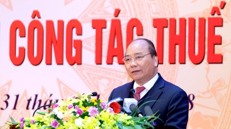 Thủ tướng nhấn mạnh, Tổng cục Thuế phải dành nhiều thời gian nghiên cứu chiến lược cải cách chứ không phải chỉ lo xử lý sự vụ.