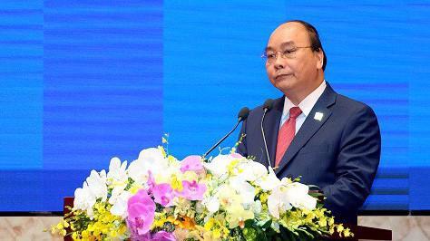 """Thủ tướng: """"Chúng tôi phấn đấu xây dựng môi trường kinh doanh thuận lợi, mang tính cạnh tranh, vươn lên nhóm đầu trong ASEAN và hướng tới tiêu chuẩn cao của Nhóm OECD""""."""