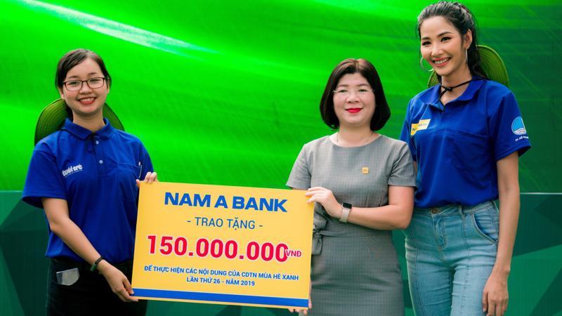 """Đồng hành cùng chiến dịch Mùa hè xanh là một trong những hoạt động nổi bật của dự án """"Tôi chọn sống xanh"""" mà Nam A Bank đang triển khai."""