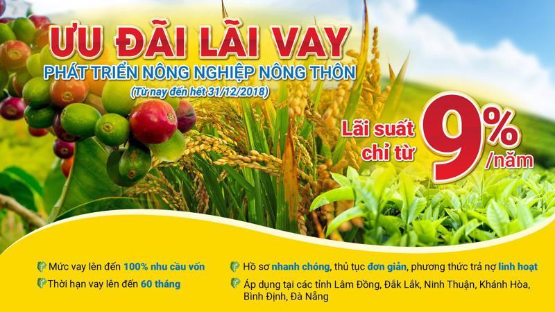 Chính sách ưu đãi này đặc biệt này được Nam A Bank áp dụng đối với người dân tại các tỉnh Lâm Đồng, Đak Lak, Ninh Thuận, Khánh Hòa, Bình Định và thành phố Đà Nẵng.