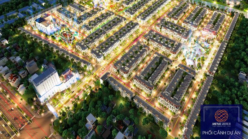 Việt Úc Varea tọa lạc tại mặt tiền đường vành đai 4 (Tỉnh lộ 830).