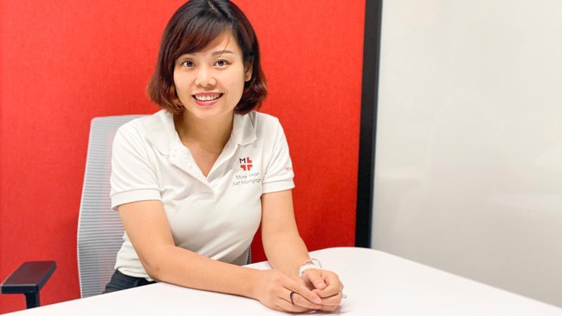 Bà Nguyễn Vân Linh - Giám đốc sáng kiến chiến lược Techcombank.