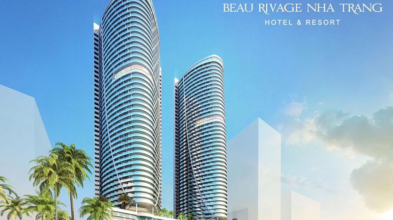 Phối cảnh dự án căn hộ du lịch Beau Rivage Nha Trang