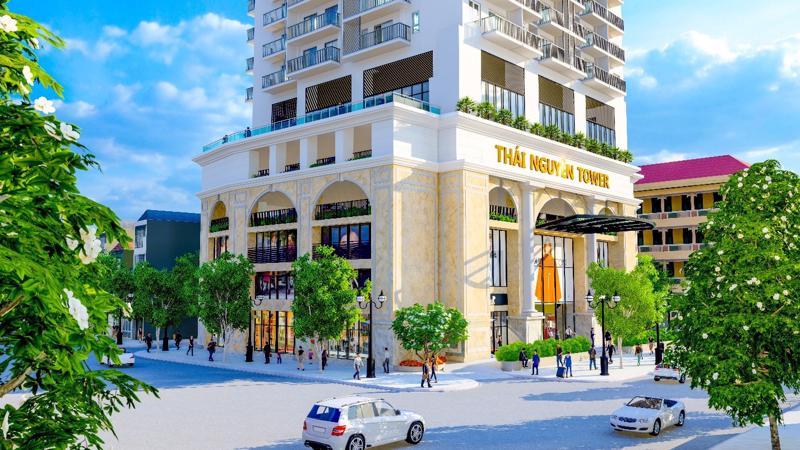 Rất hiếm những dự án căn hộ cao cấp đạt tiêu chuẩn 5 sao tại Thái Nguyên.