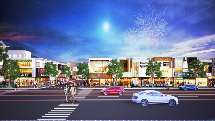 Golden Future City có quy mô 8,08 ha gồm 509 nền nhà phố với diện tích đa dạng từ 70 - 147m2.