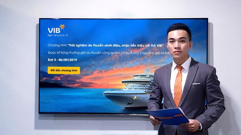 Tính đến nay, đã có 3 chủ thẻ tín dụng VIB trúng thưởng cặp vé du lịch châu Á bằng du thuyền.