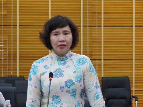 Thứ trưởng Hồ Thị Kim Thoa được bổ nhiệm năm 2010.
