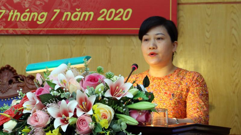 Bà Đỗ Thị Minh Hoa được giao quyền Chủ tịch UBND tỉnh Bắc Kạn.