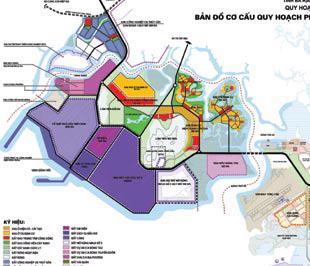 Bản đồ quy hoạch Khu công nghiệp dầu khí Long Sơn.