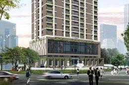 Phối cảnh dự án Hòa Bình Green Apartment.