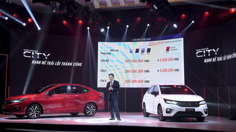 Honda City 2021 được nâng cấp đáng kể về trang bị công nghệ.