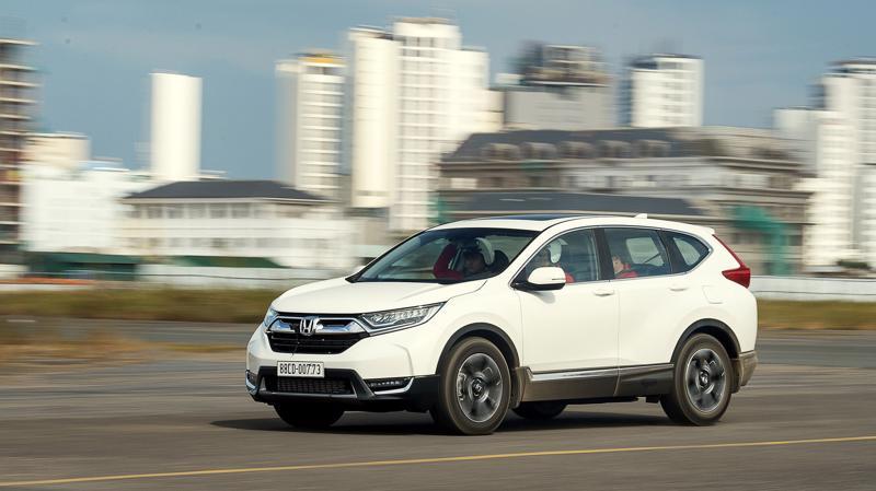 Honda CR-V đã có màn tái xuất ngoạn mục với sản lượng bán hàng hơn 1.500 chiếc.