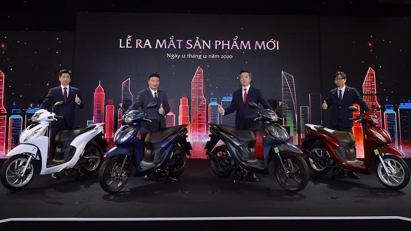Mẫu xe tay ga bán chạy nhất của Honda Việt Nam có thêm phiên bản và bổ sung nhiều tiện ích sử dụng.