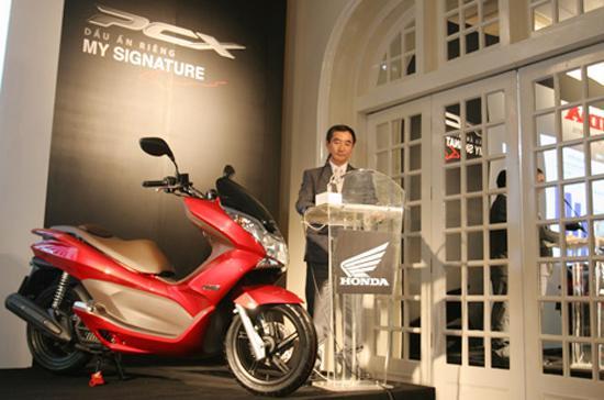 Honda PCX vừa ra mắt tại Việt Nam hôm 18/9.