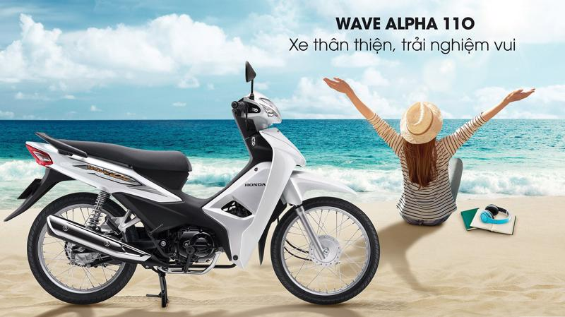 Wave Alpha 110, mẫu xe tiên phong trong khối xe số của Honda tại thị trường Việt Nam.