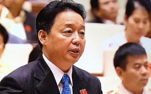 Bộ trưởng Trần Hồng Hà lần đầu tiên đăng đàn tại Quốc hội