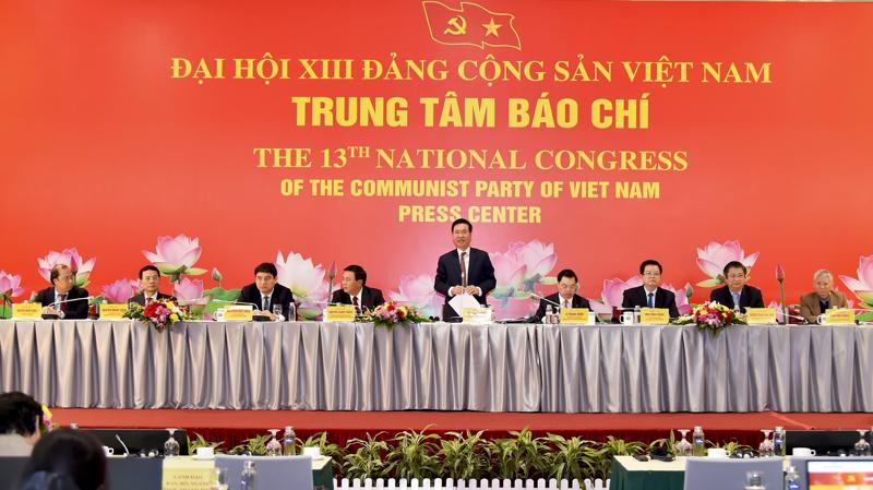 Họp báo trước thềm Đại hội XIII của Đảng vào chiều ngày 22/1/2021