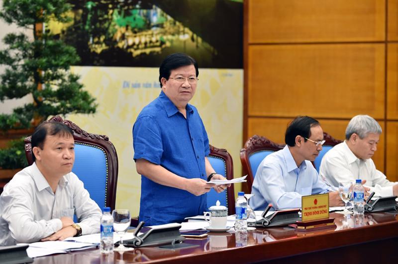 Phó thủ tướng yêu cầu Bộ Kế hoạch và Đầu tư cùng Tổng cục Thống kế cần  tiếp tục tính toán chi tiết hơn nữa, đến từng sản phẩm chủ lực trong cơ  cấu GDP.<br>