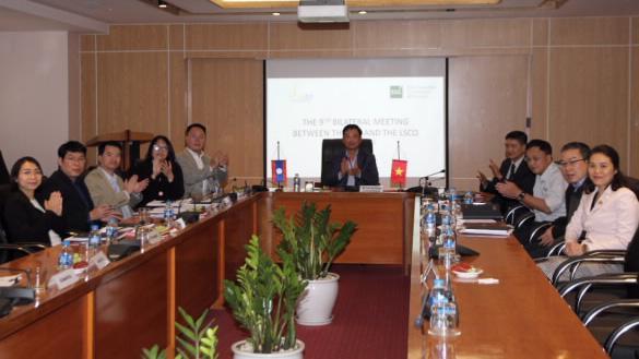 Họp song phương lần thứ 9 giữa Uỷ ban chứng khoán Nhà nước với Uỷ ban chứng khoán Lào dưới hình thức trực tuyến