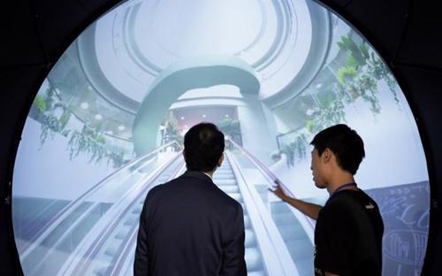 Minh họa mô hình văn phòng WeWork tại Thượng Hải - Ảnh: Bloomberg.<br>