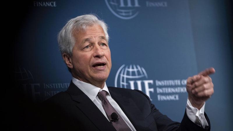 Jamie Dimon, CEO của JPMorgan - Ảnh: CNN.