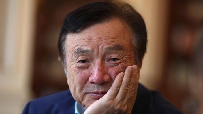 Ông Ren Zhengfei - Ảnh: Reuters