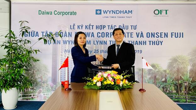 Tính đến thời điểm hiện tại, Wyndham Lynn Times Thanh Thủy là dự án cung cấp lượng lớn sản phẩm căn hộ nghỉ dưỡng khoáng nóng Việt sang thị trường quốc tế cho khách hàng Nhật Bản.