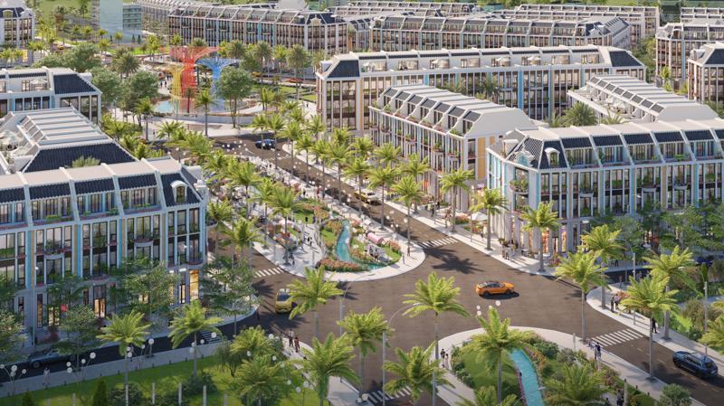La Queenara không chỉ là khu đô thị hiện đại, giàu bản sắc, nơi đem lại cho cư dân cuộc sống thanh bình, mà còn là tổ hợp nghỉ dưỡng, giải trí, kinh doanh sầm uất.