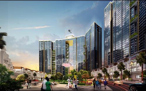 Dự án Sunshine City có mức đầu tư lên đến 5.000 tỷ đồng.