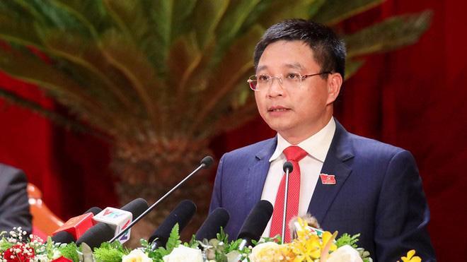 Tân Bí thư Tỉnh ủy Điện Biên Nguyễn Văn Thắng.