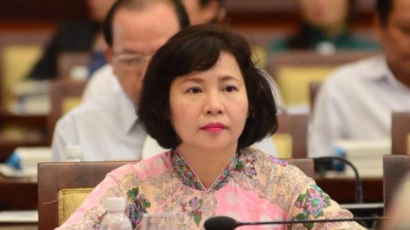 Bà Hồ Thị Kim Thoa - cựu Thứ trưởng Bộ Công Thương - Ảnh: VGP