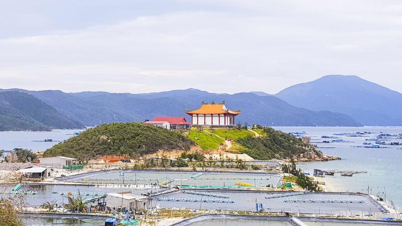 Một góc Vịnh Vân Phong, Khánh Hòa.
